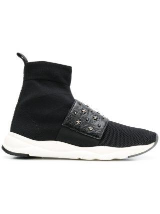 Balmain cameron sneakers (zwart)