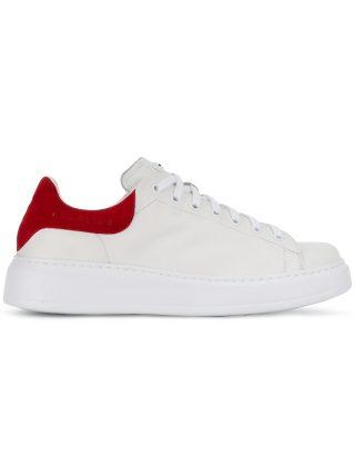 Rucoline Nemo contrast heel sneakers (wit)