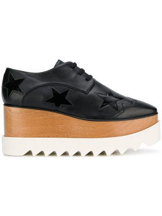 Stella McCartney Elyse platform sneakers - Black