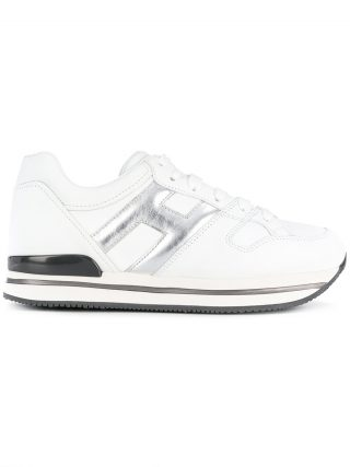 Hogan H222 side logo sneakers - White