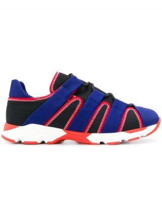 Marni lace-up sneakers (blauw)