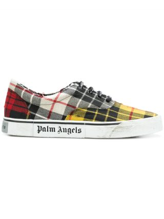 Palm Angels low-top sneakers (geel/oranje)