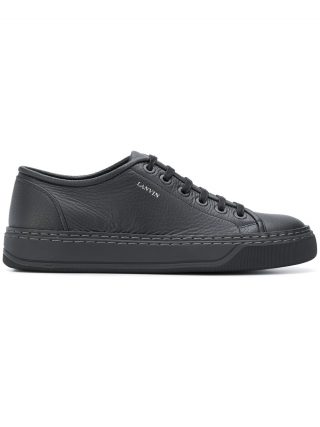 Lanvin classic low top sneakers (zwart)