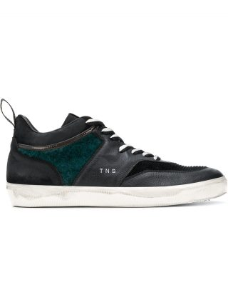 Leather Crown MTNS sneakers (zwart)