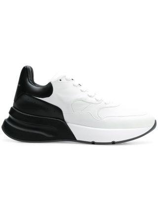 Alexander McQueen Oversized runner sneakers - White