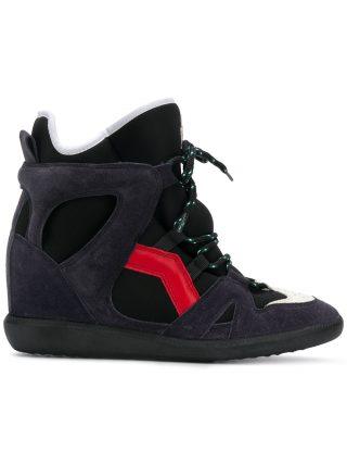Isabel Marant Bramy wedge sneakers - Black