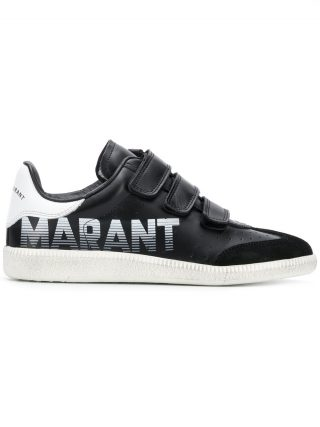 Isabel Marant Beth velcro sneaker - Black