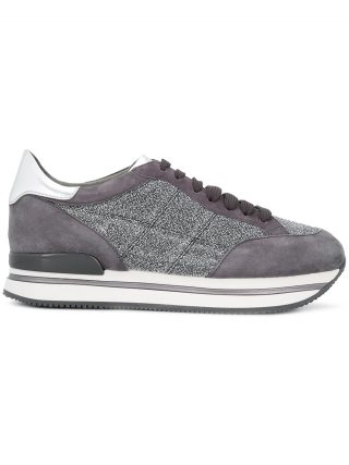 Hogan H222 glitter sneakers - Grey