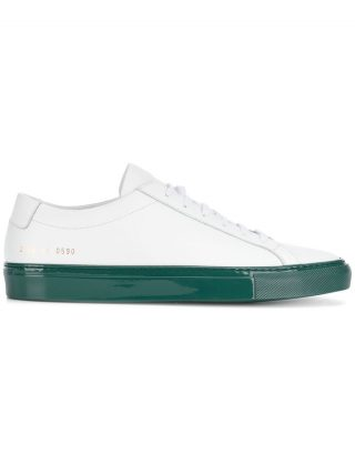 Common Projects Achilles contrast sole sneakers - White