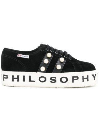 Philosophy Di Lorenzo Serafini Superga X Philosophy sneakers (zwart)