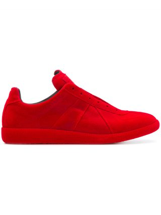 Maison Margiela laceless Replica sneakers - Red