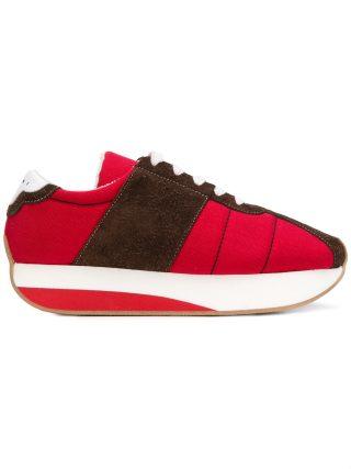 Marni Big Foot sneakers (rood)