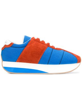 Marni Big Foot sneakers (blauw)