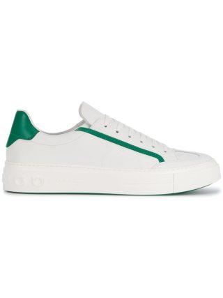 Salvatore Ferragamo lace-up sneakers (wit)