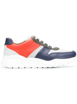 Bally colour block sneakers (blauw)