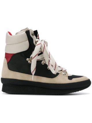 Isabel Marant Brendta high top sneakers (zwart)