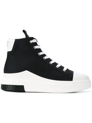 Cinzia Araia hi-top lace-up sneakers (zwart)