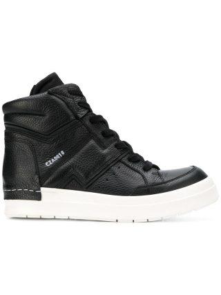 Cinzia Araia lace-up hi-top sneakers (zwart)