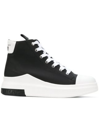 Cinzia Araia lace-up hi-top sneakers (zwart)