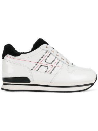Hogan H222 platform sneakers - White