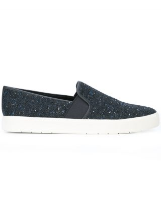 Vince slip on trainers (blauw)