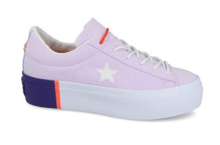 Converse One Star Platform 559902C (paars)