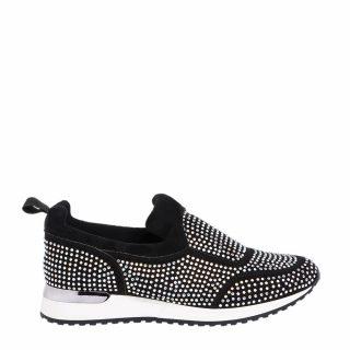 River Island sneakers met glitters (zwart)
