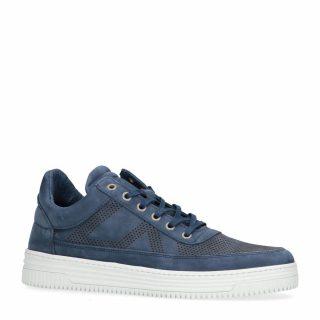 Sacha nubuck sneakers blauw (heren) (blauw)