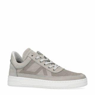 Sacha nubuck sneakers grijs (heren) (grijs)