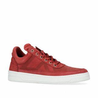 Sacha nubuck sneakers rood (heren) (rood)
