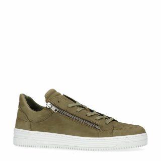 Sacha nubuck sneakers groen (heren) (groen)