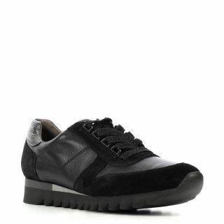 Paul Green leren sneakers zwart (zwart)