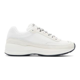 A.P.C. White Femme Sneakers