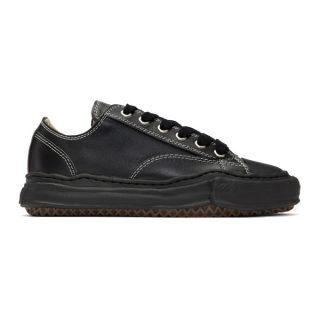Miharayasuhiro Black Original Sole Leather Sneakers