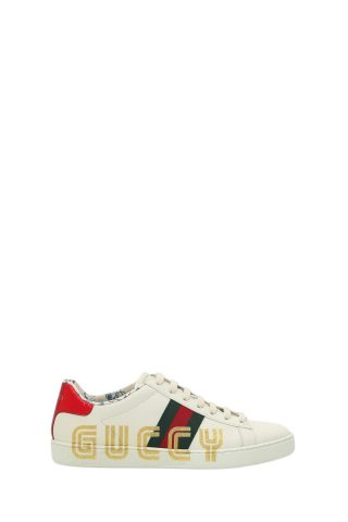 Gucci Gucci Ace Sneaker With Guccy Print (Overige kleuren)