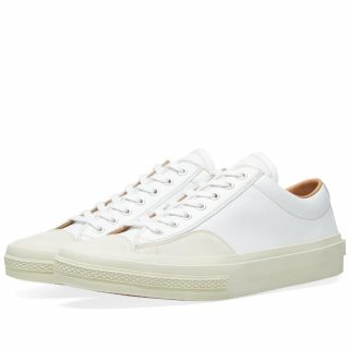 Dries Van Noten Leather Sneaker (White)
