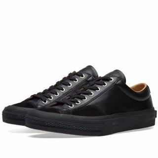 Dries Van Noten Leather Sneaker (Black)
