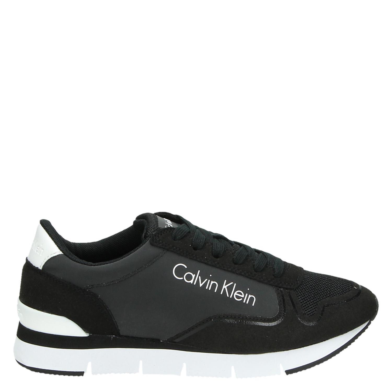 5e425ce313d Calvin Klein Tori lage sneakers zwart | | Calvin Klein