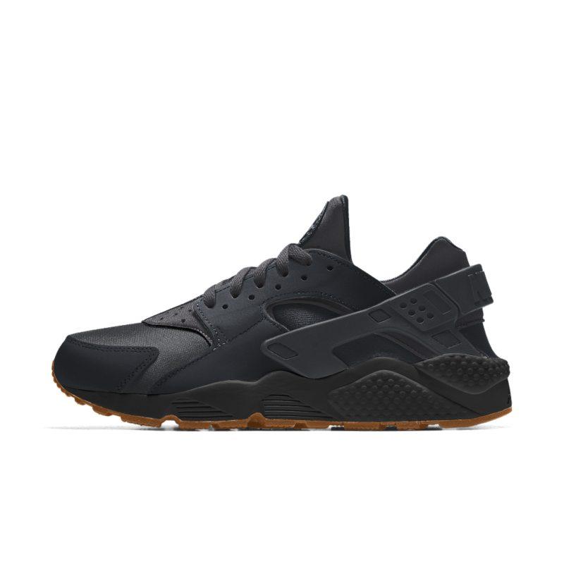 Nike Air Huarache iD Herenschoen - Zwart Zwart