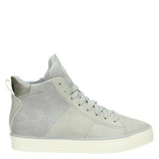 Esprit hoge sneakers grijs