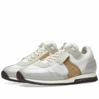 Acne Studios Jimmy Label Sneaker (Neutrals)