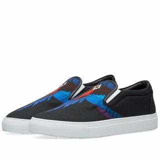 Marcelo Burlon Wings Slip-On Sneaker (Black)