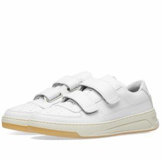 Acne Studios Perey Two Strap Sneaker (White)
