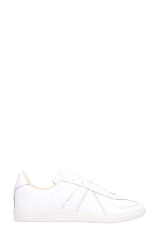 Adidas Adidas Bw Army White Leather Sneakers (wit)