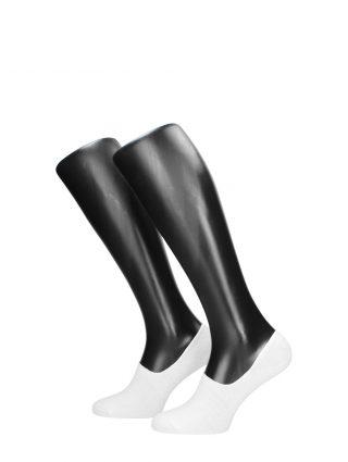 Visions 3 paar sneaker sokken – Wit
