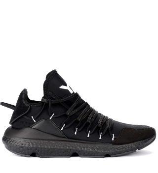 Y-3 Sneaker Y-3 Kusari In Mesh E Neoprene Nero (zwart)