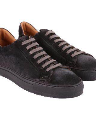 Doucals Doucals Suede Sneakers (antraciet)