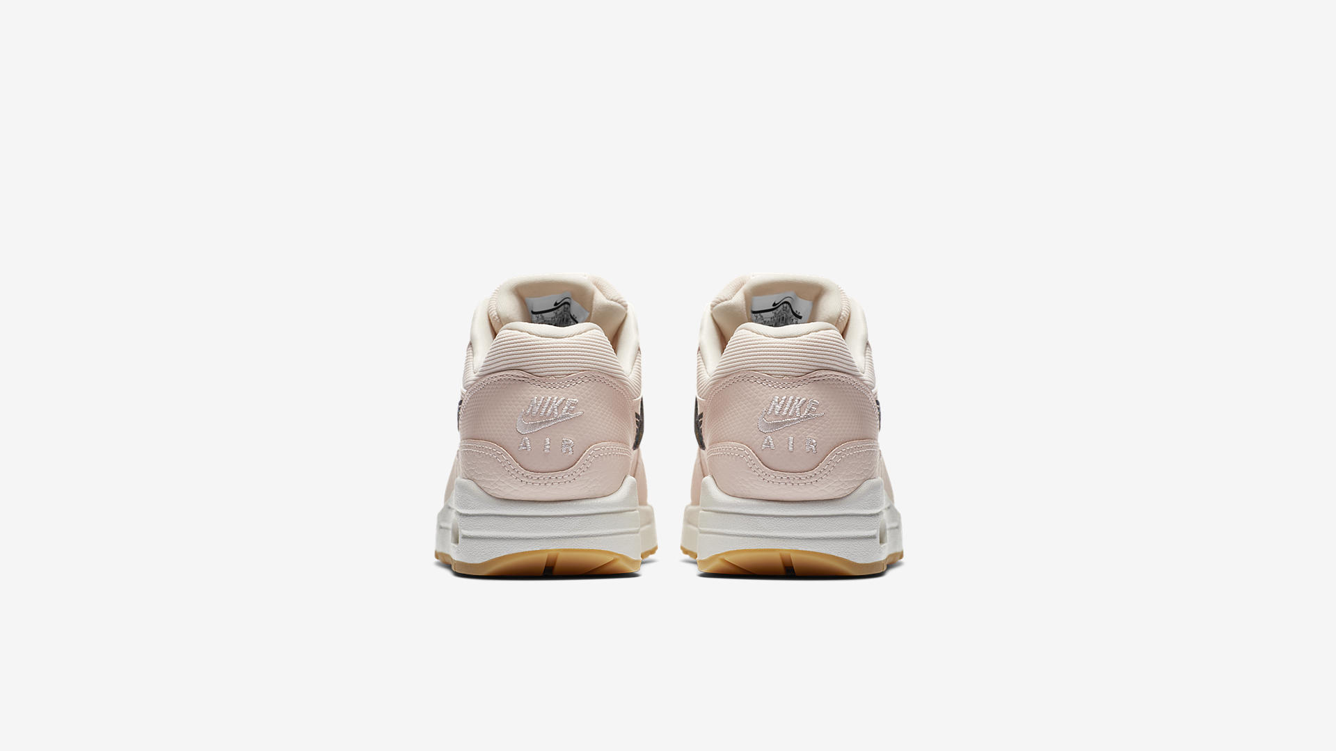Nike Air Max 1 Premium Rose / Black / Off-White (454746-800)