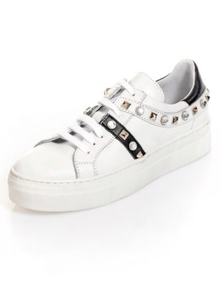 Sneaker Alba Moda wit/zwart