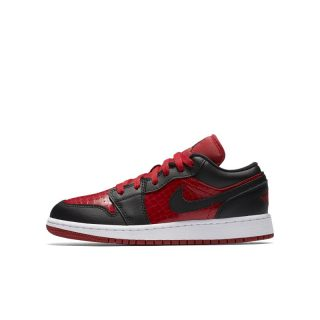 Air Jordan 1 Low Kinderschoen - Rood Rood